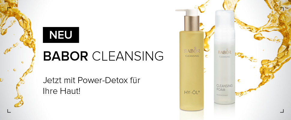 BABOR Cleansing mit Power-Detox