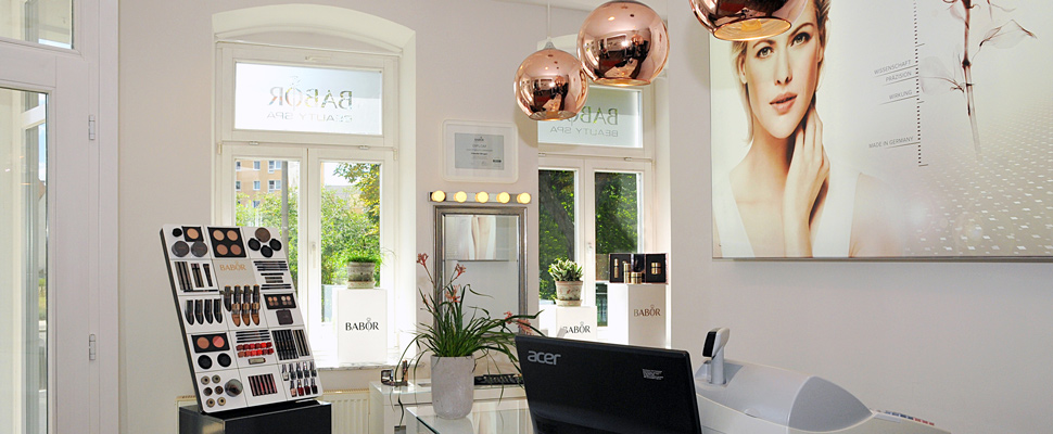 BABOR BEAUTY SPA Claudia Singer - Verkaufsraum